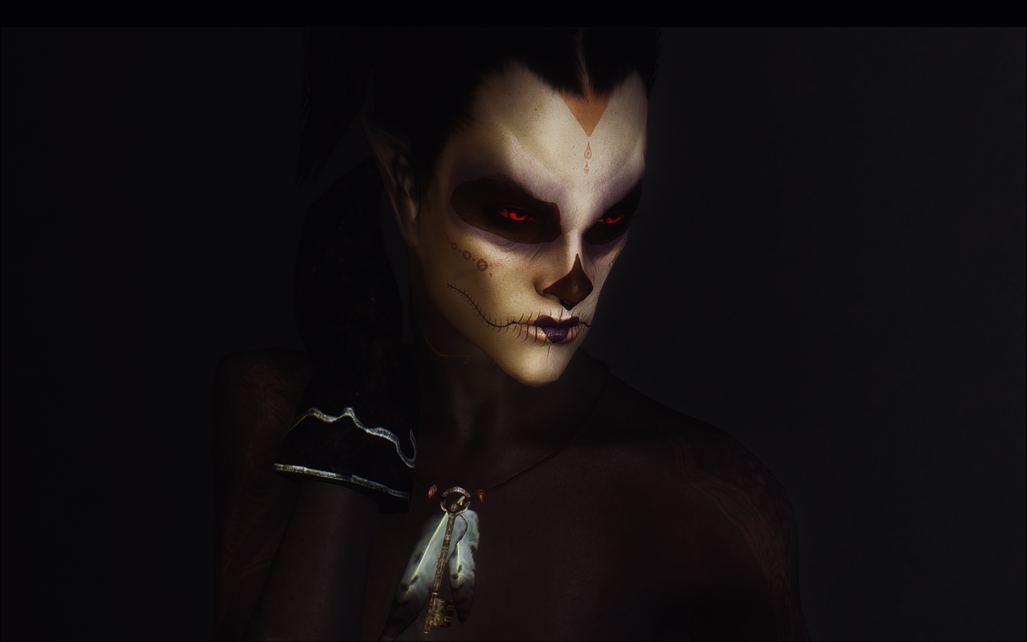 Dunmer Freak - WIP Warpaints by Miss Morose