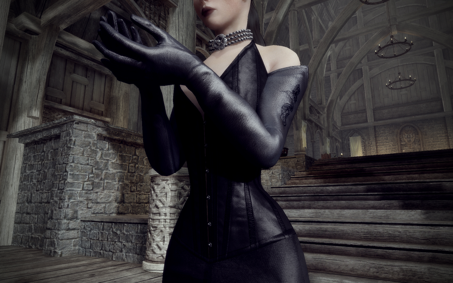 Long gloves at Skyrim Nexus - mods and community