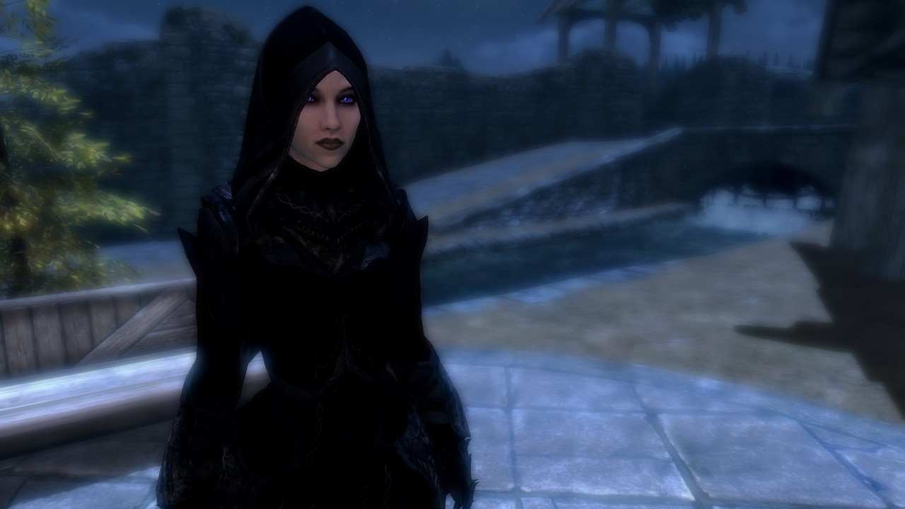 Black Tribunal Robes Re Texture At Skyrim Nexus Mods And Community