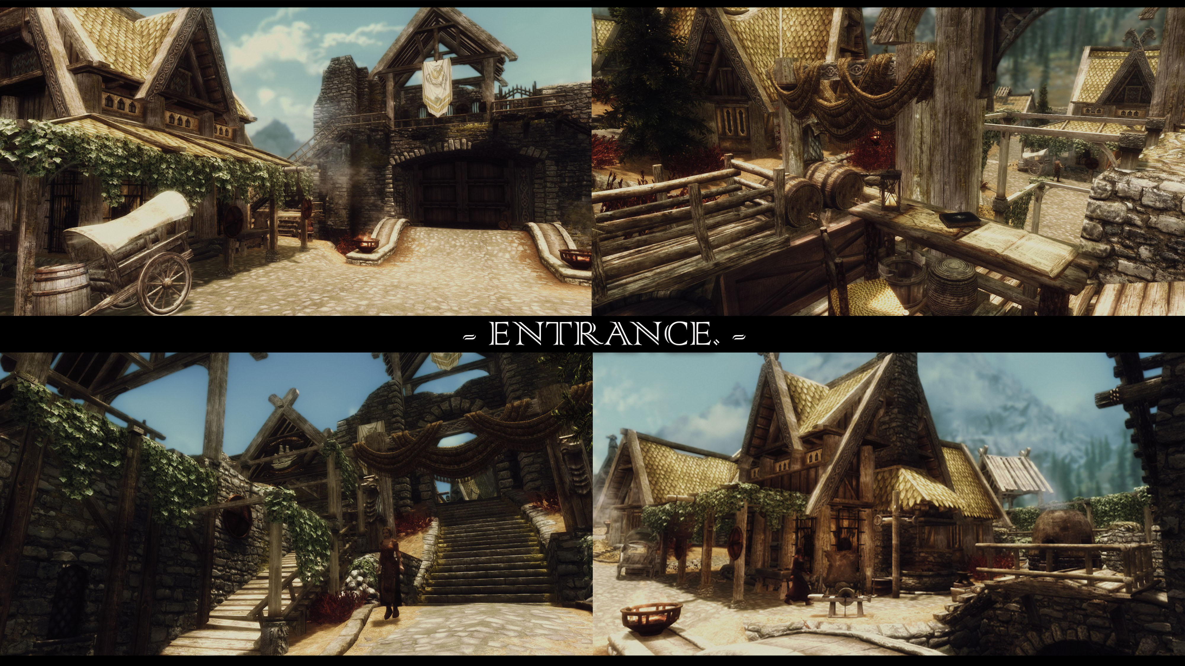 JK's Whiterun entrance