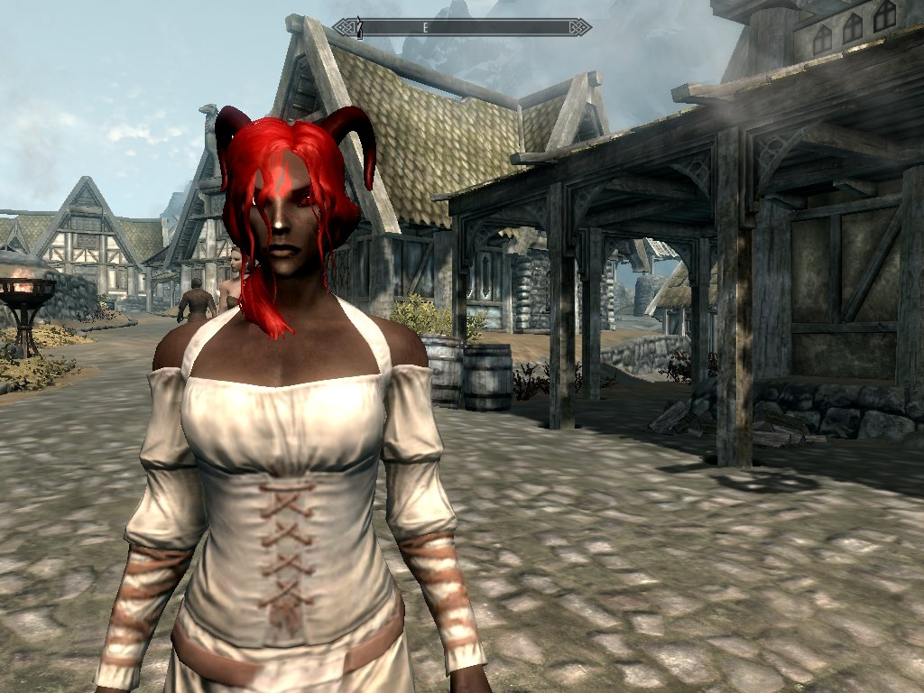 The lone Dunmer