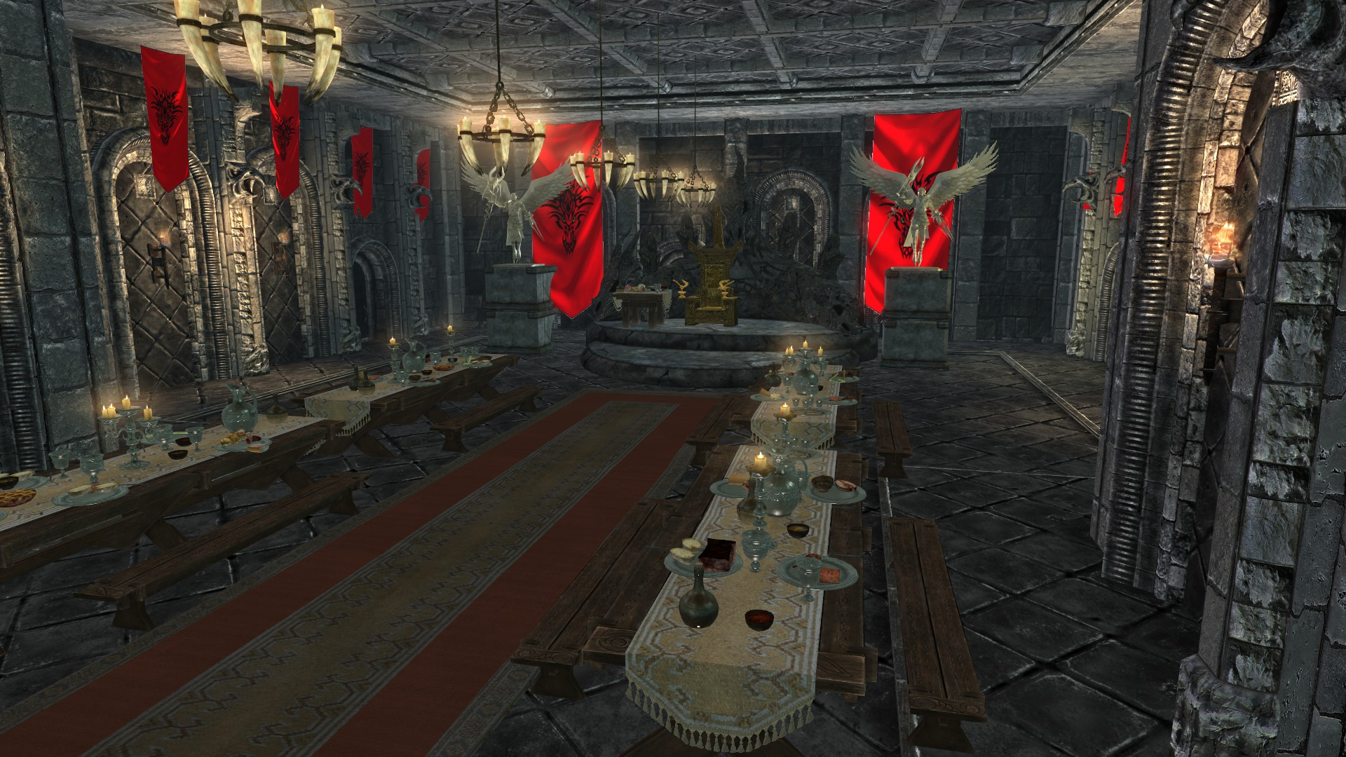 Castle BlackThrone Throne Room