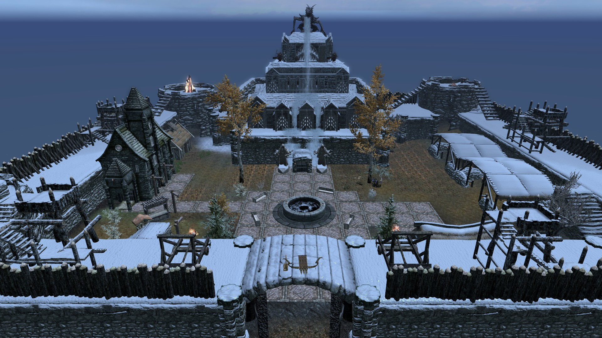 BlackThrone Castle Exterior
