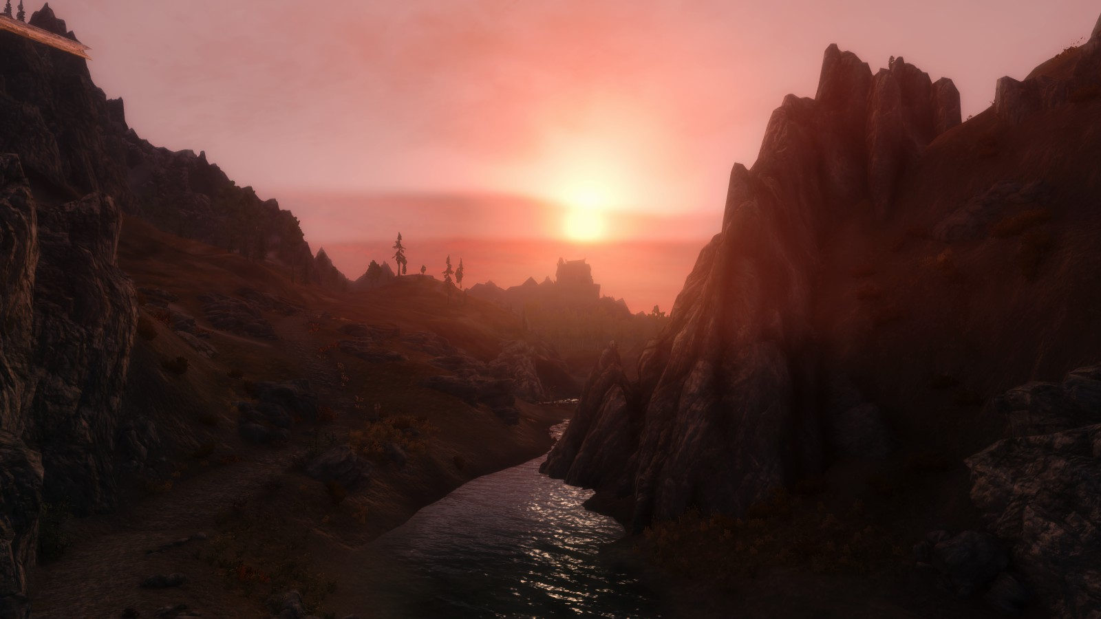 Sunset Atop Dragonsreach