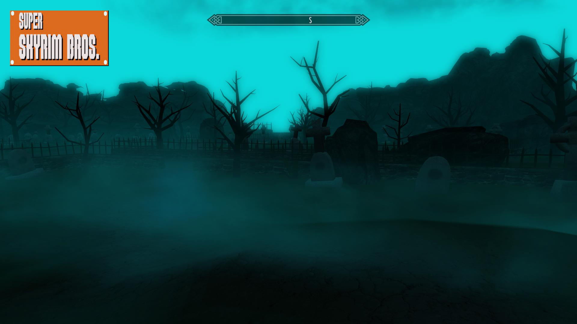 SUPER SKYRIM BROS_Haunted House WIP