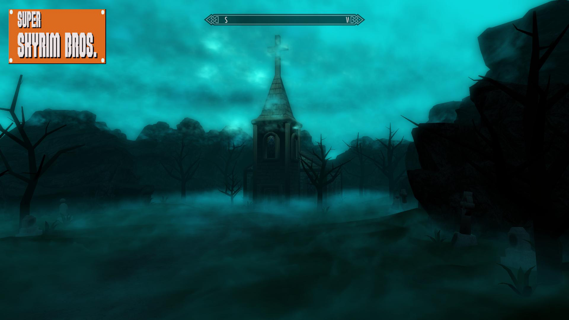 SUPER SKYRIM BROS_Haunted Church