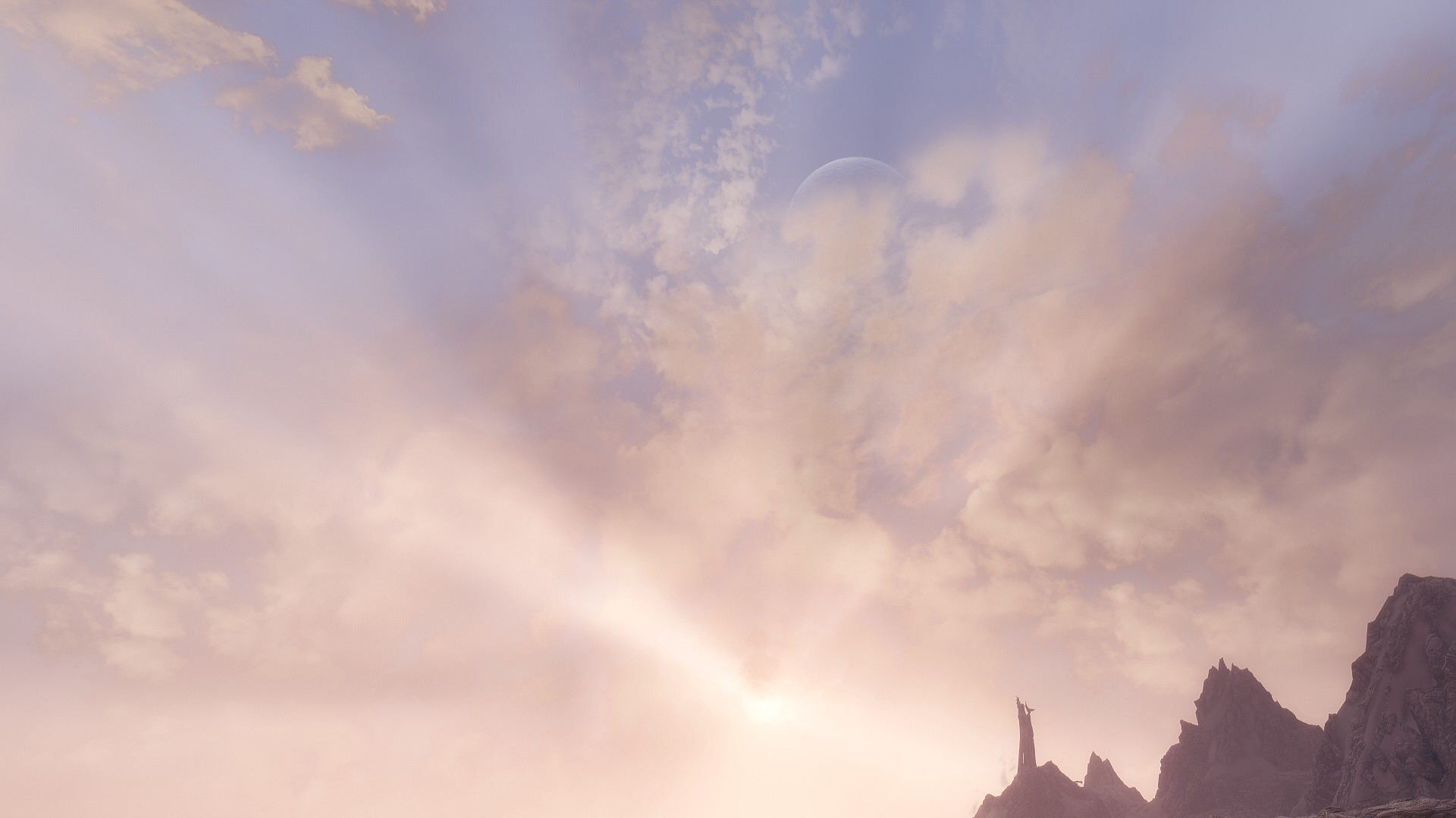Realistic Sky on Skyrim