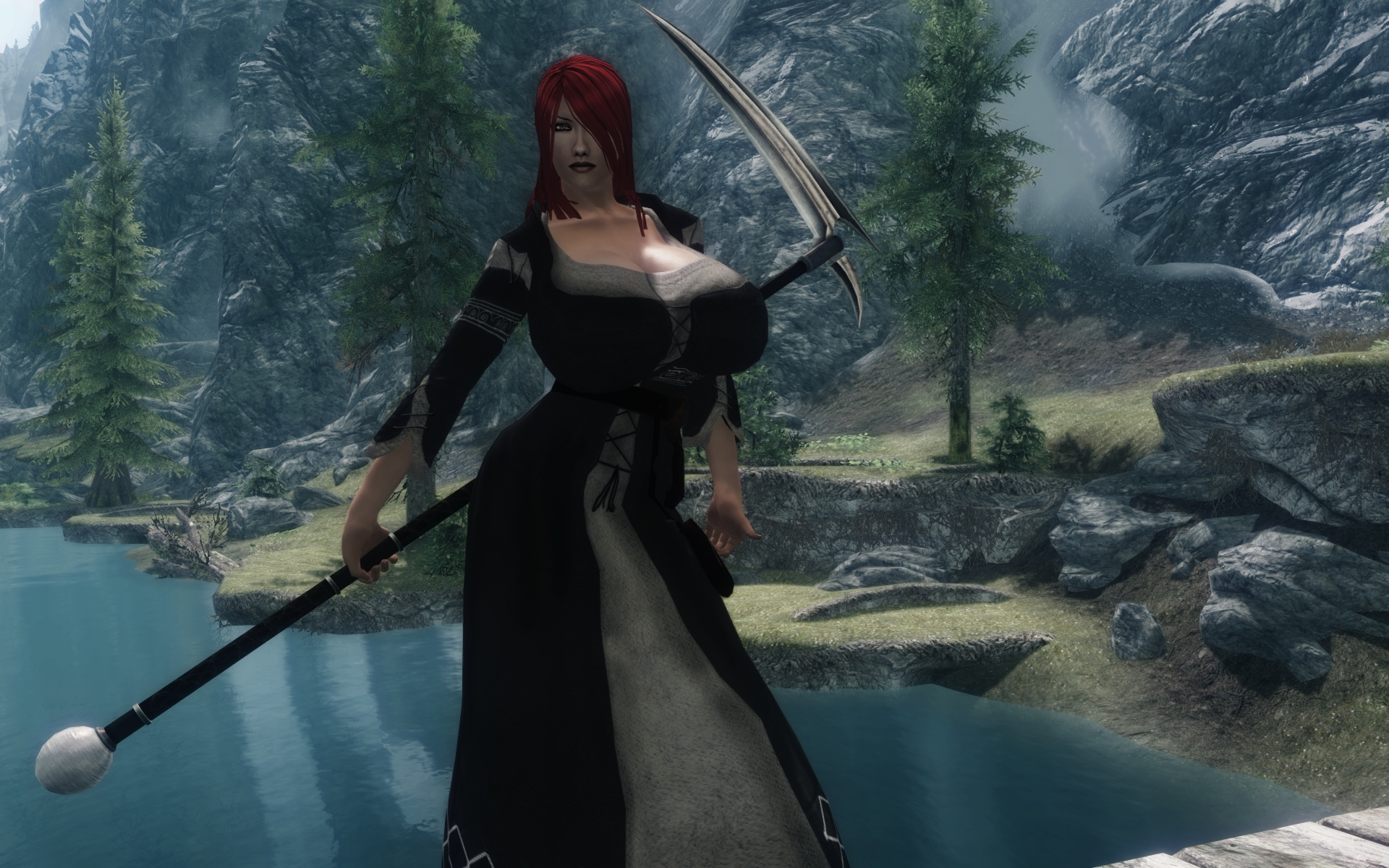Mourners Clothes From Calientes Cbbev3 At Skyrim Nexus Mods And