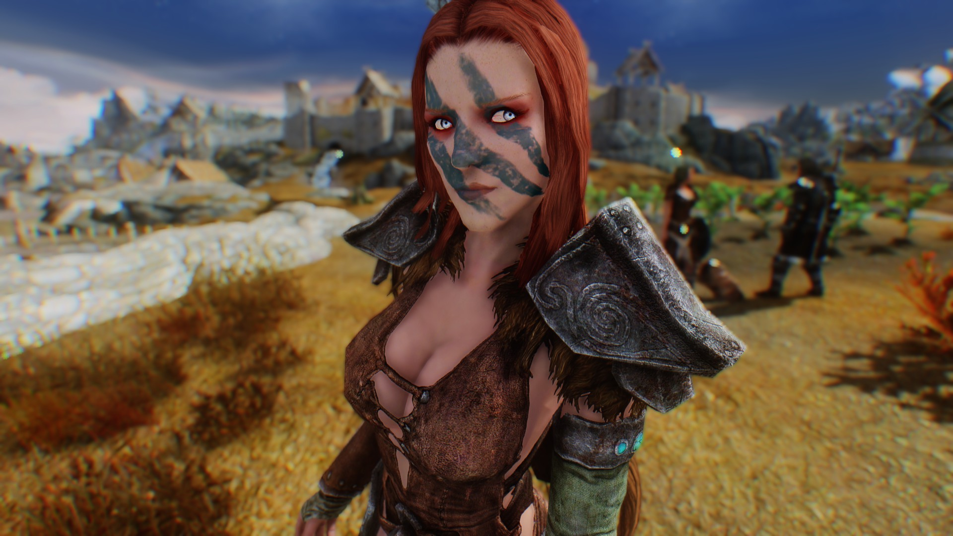 Aela has beautifull eyes