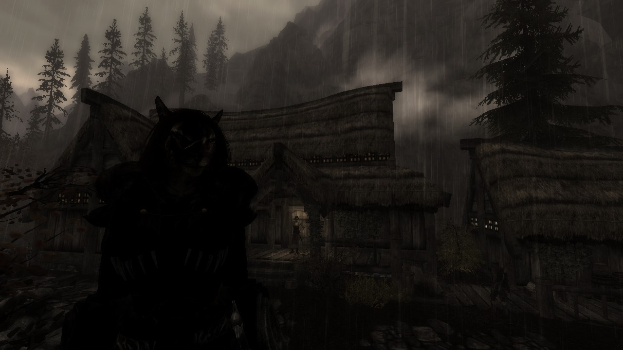 Khajiit does not approve of this Nordic rain