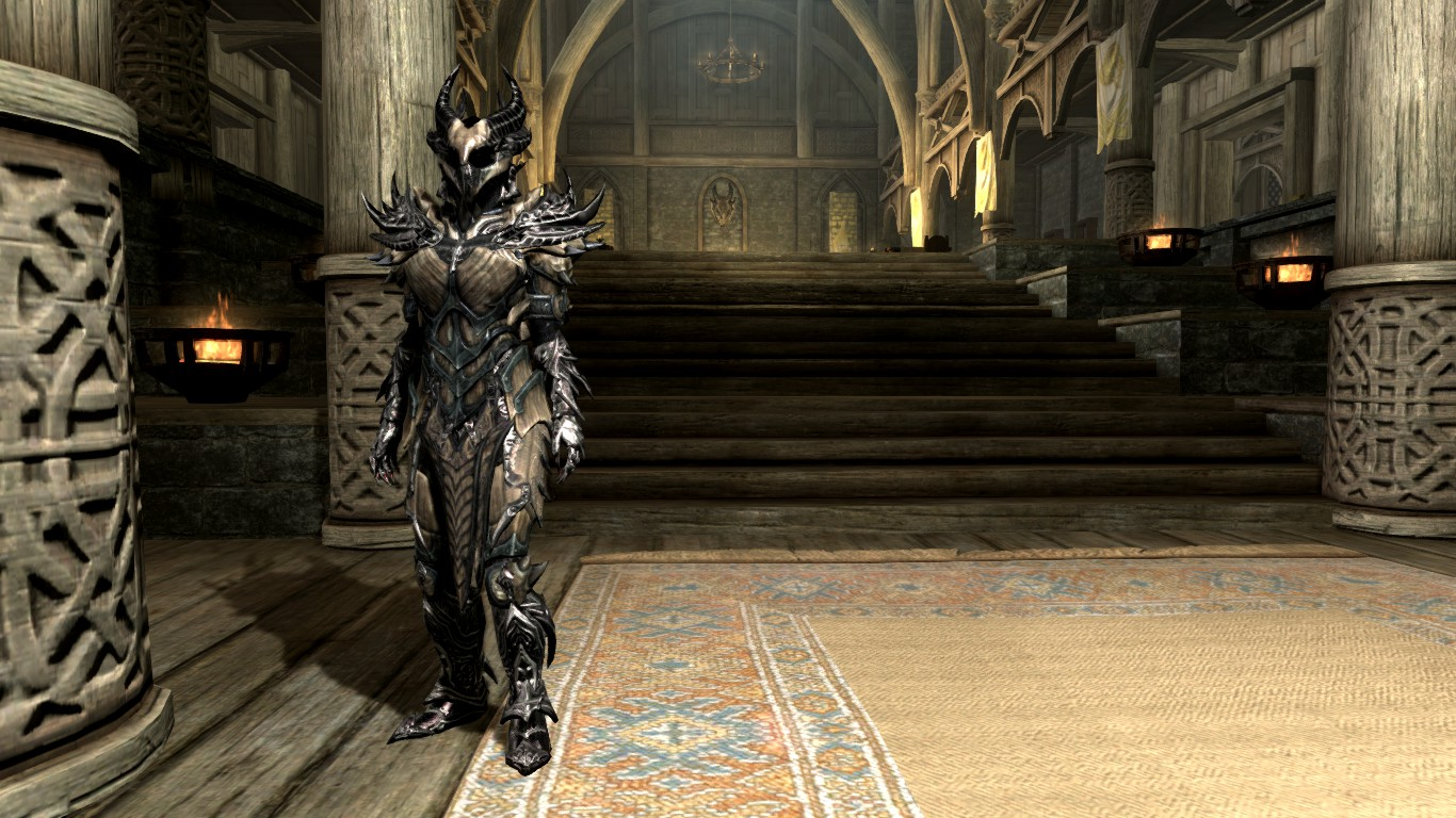 Dragon Infused Daedric Armor At Skyrim Nexus Mods And Community There are 57 dragon armor skyrim for sale on etsy, and they cost $186.06 on average. dragon infused daedric armor at skyrim