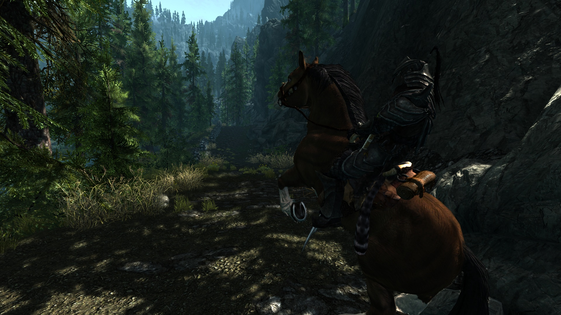 realistic lighting with customization sydney666 config at skyrim