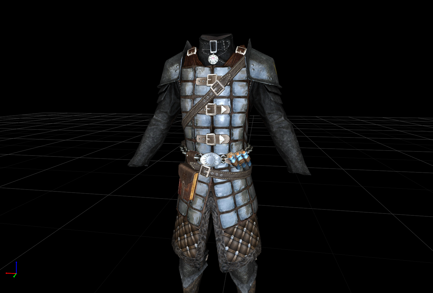 Dawnguard armor revisited WIP