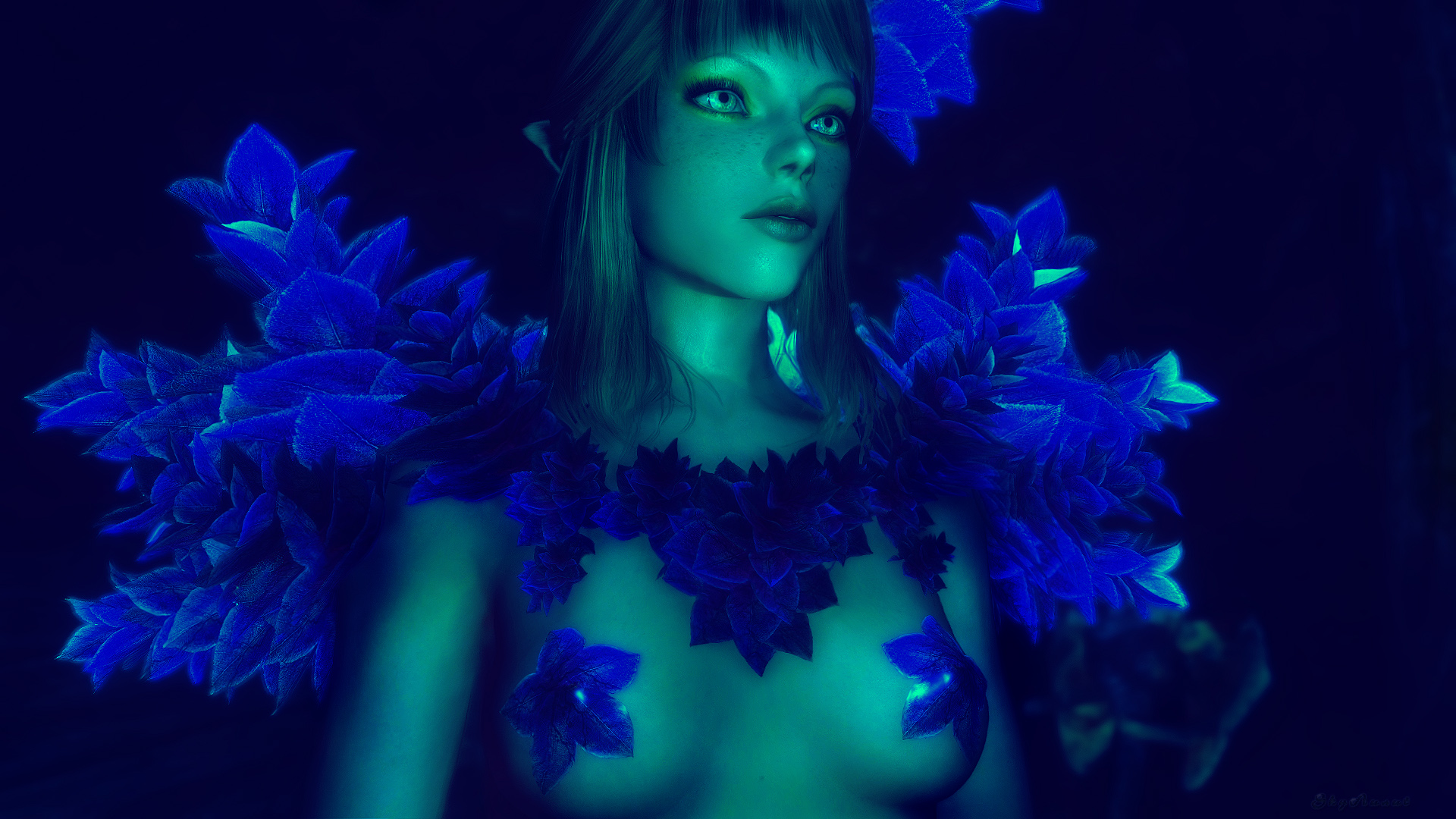 Blue Flower Elf