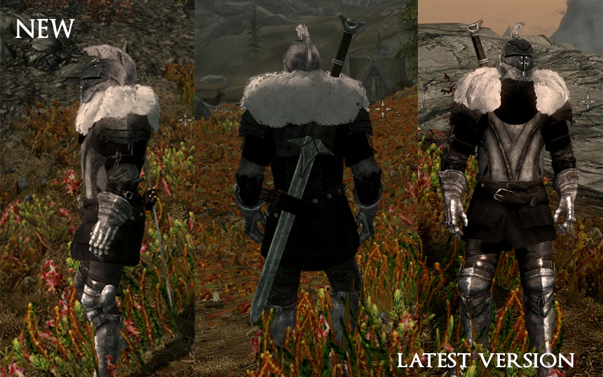 Dark Soul II Armor set UPDATED at Skyrim Nexus - mods and