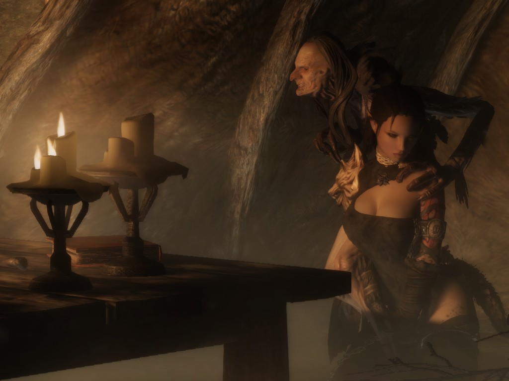Serene in the Darklight Tower at Skyrim Nexus - mods and ...