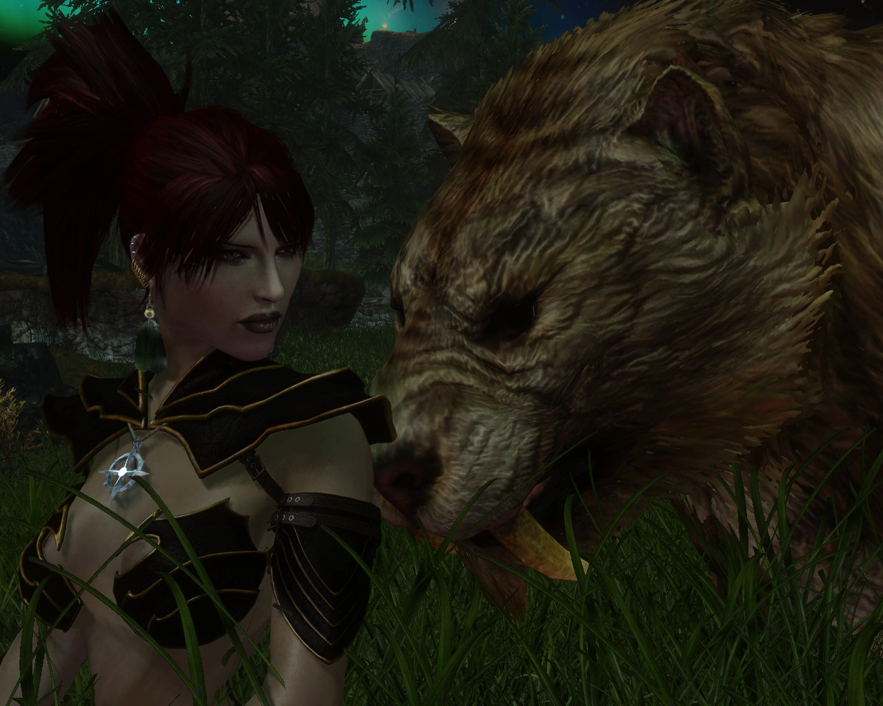 Rayne and her Pet