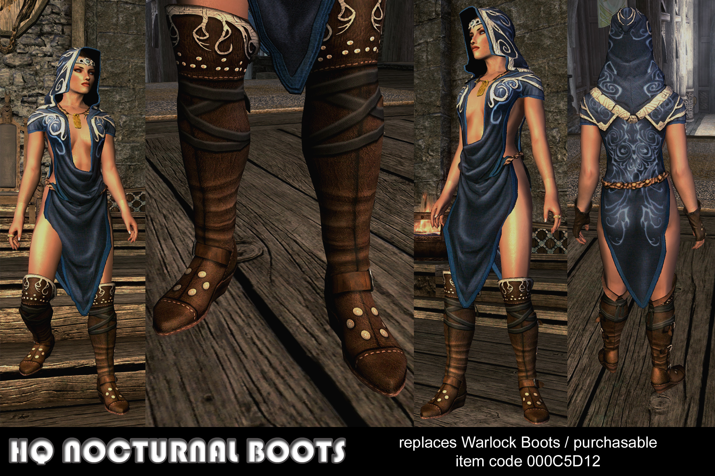 Add Nocturnal S Clothes Skyrim