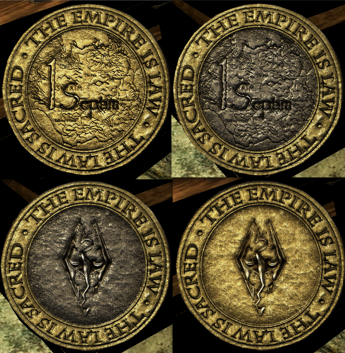 New HD Gold Coin at Skyrim Nexus - mods and community