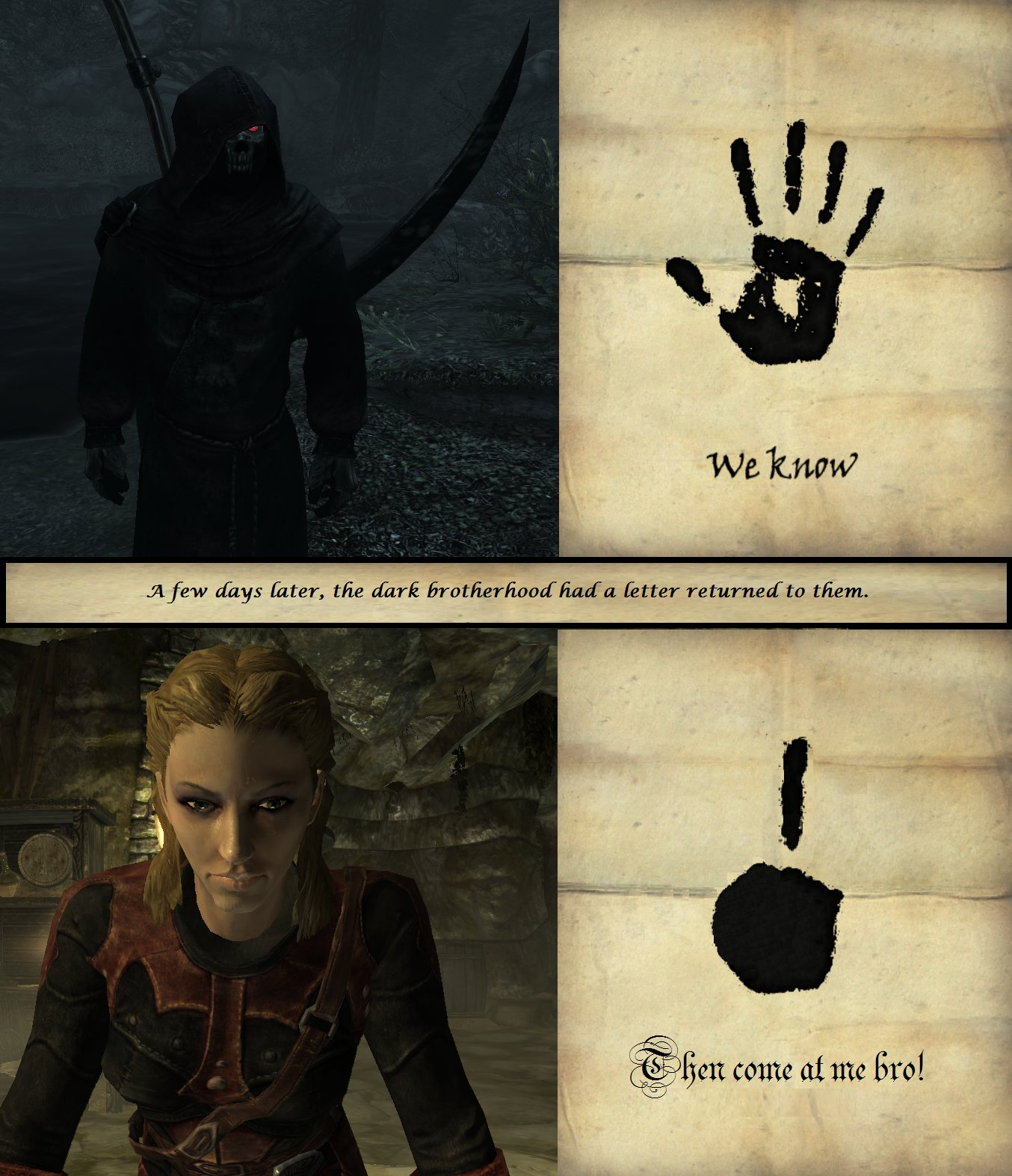 How to properly reject the Dark Brotherhood