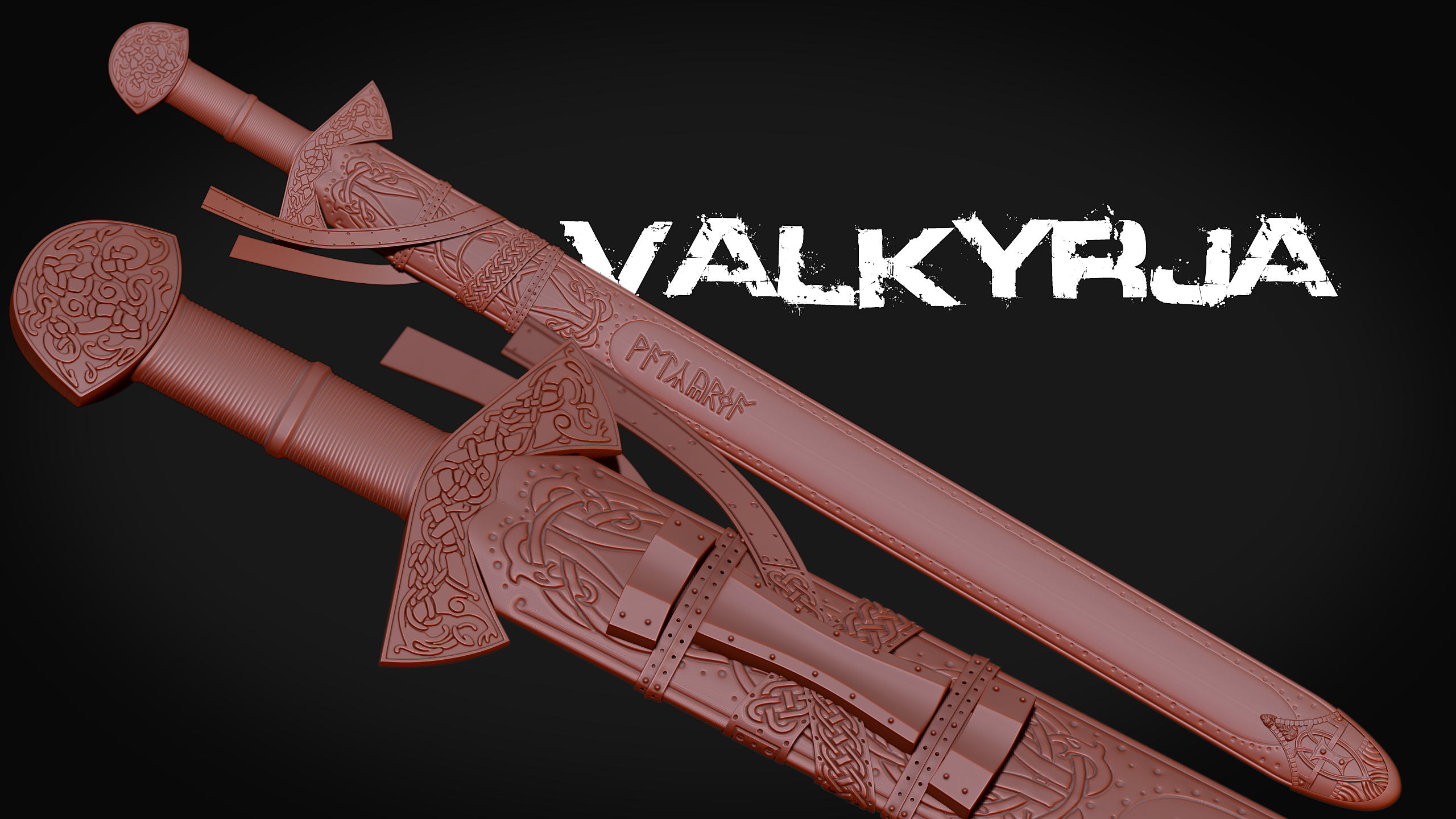 Valkyrja highpoly hd render