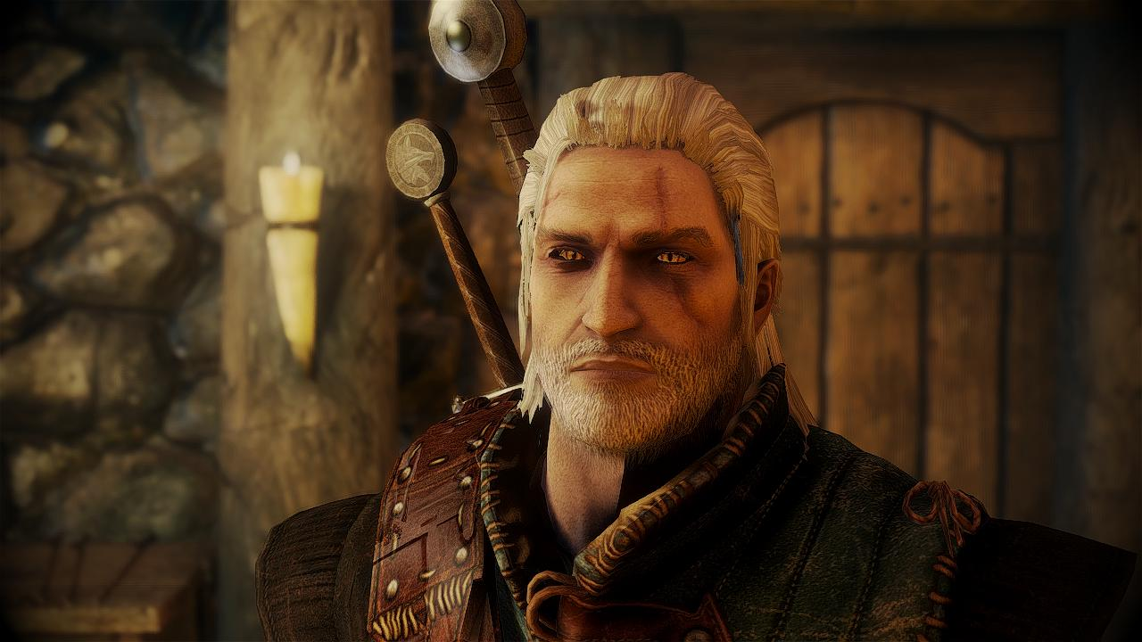 Geralt of Rivia Witcher 3