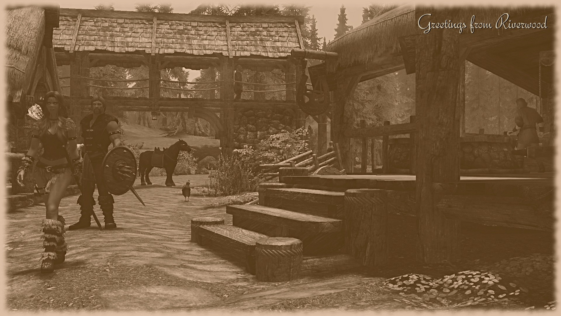 Riverwood postcard