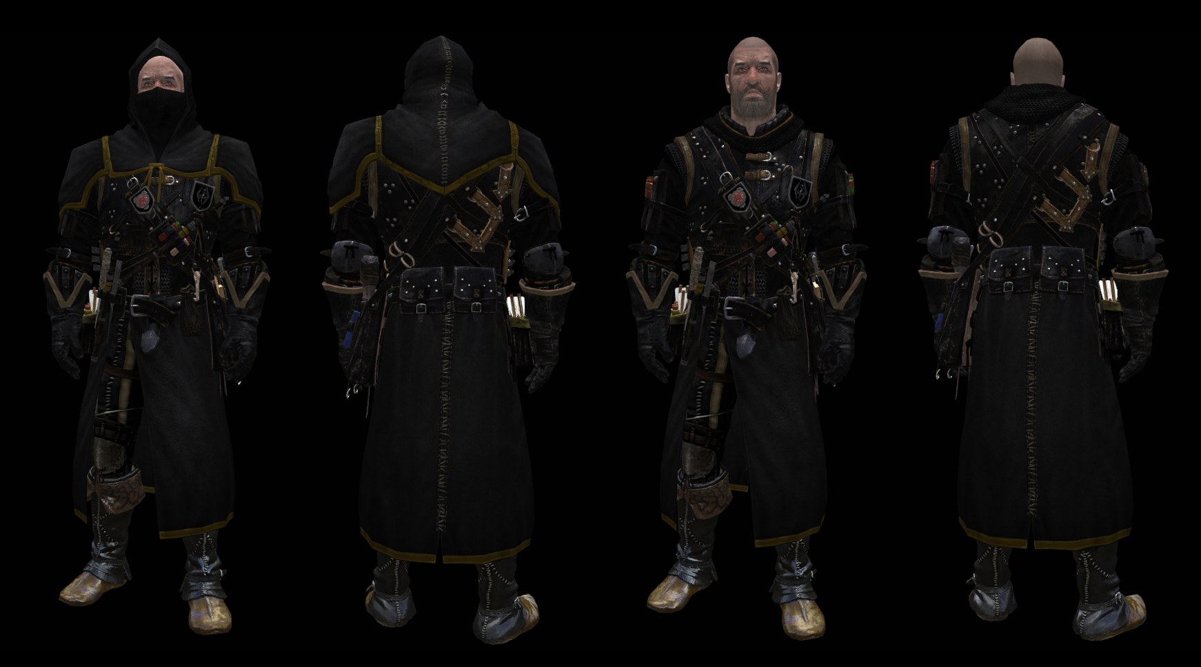 Armor of Intrigue WIP In-Game