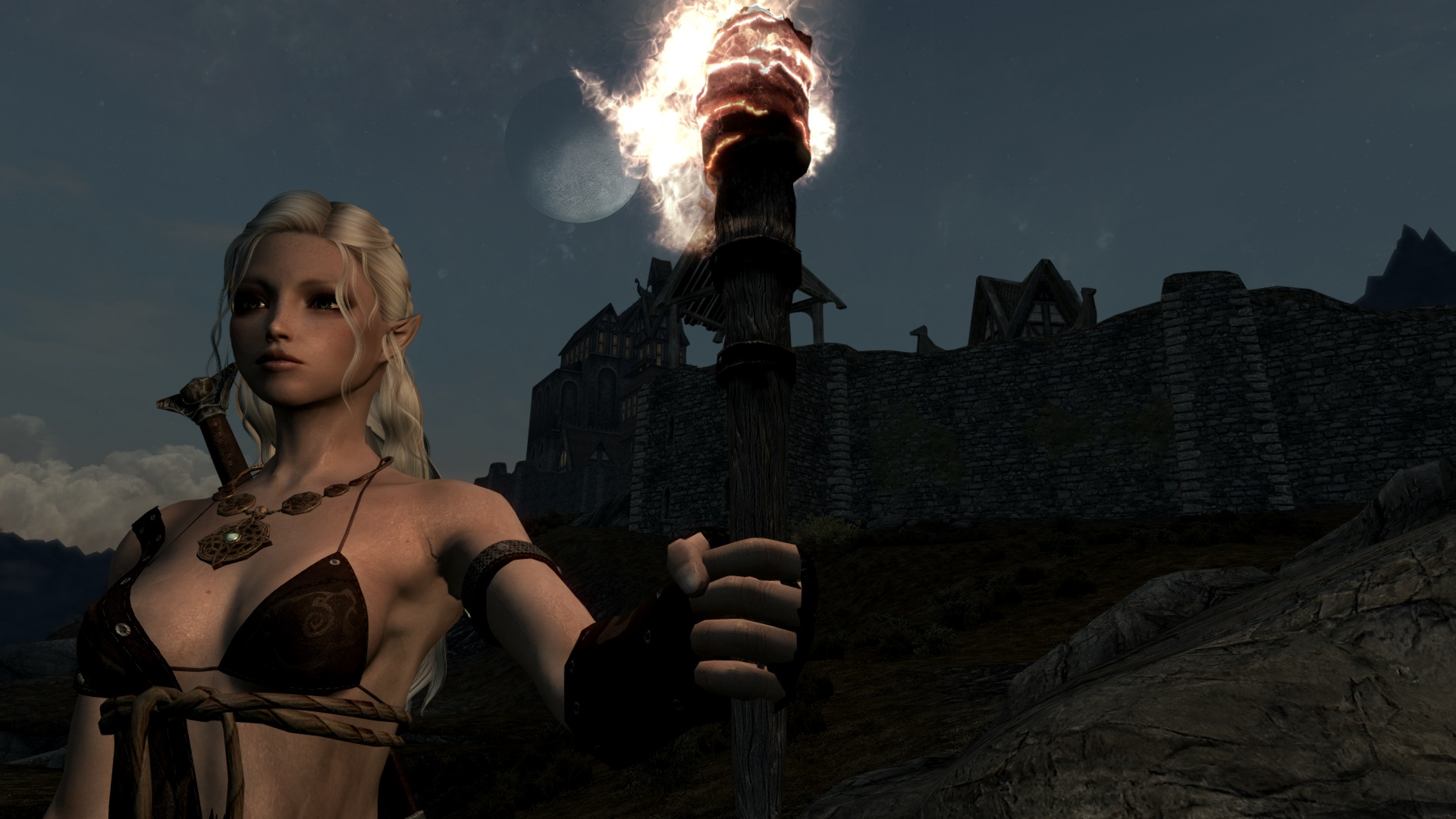 We Are The Watchers On The Wall At Skyrim Nexus Mods And Community