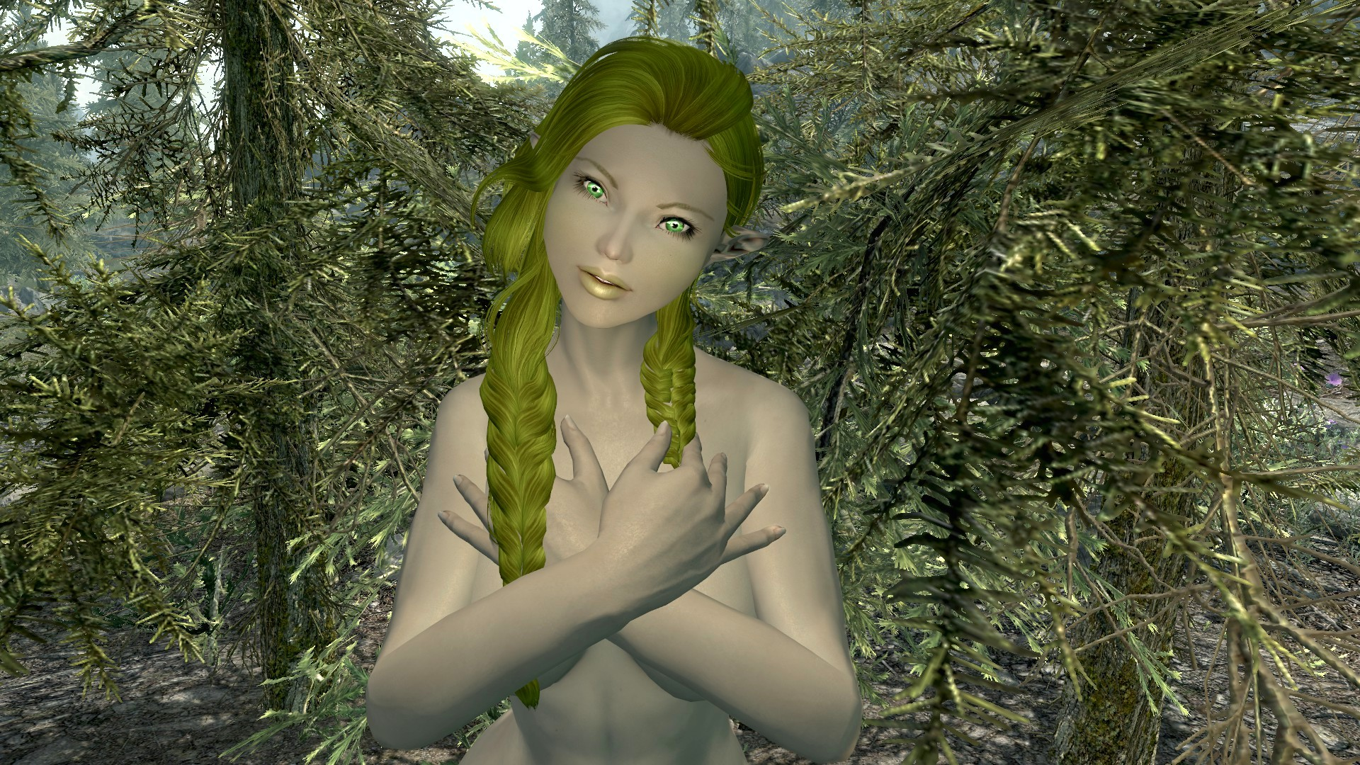 Creepy swamp elf