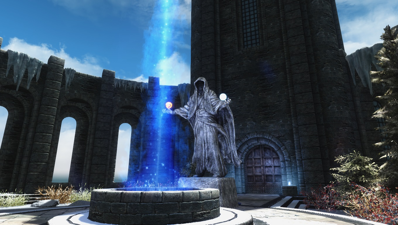 College of Winterhold Statue at Skyrim Nexus - mods and