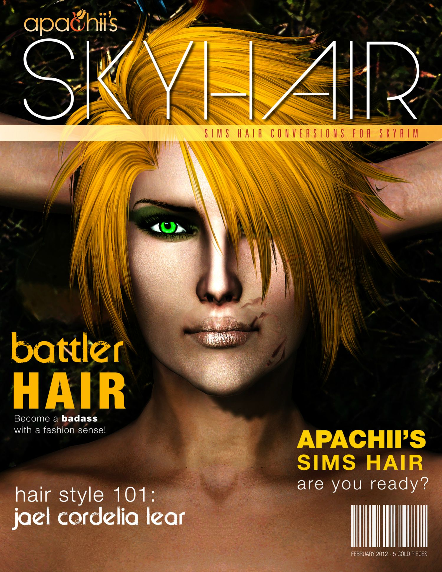 Apachii Sky Hair at Skyrim Nexus - mods and community