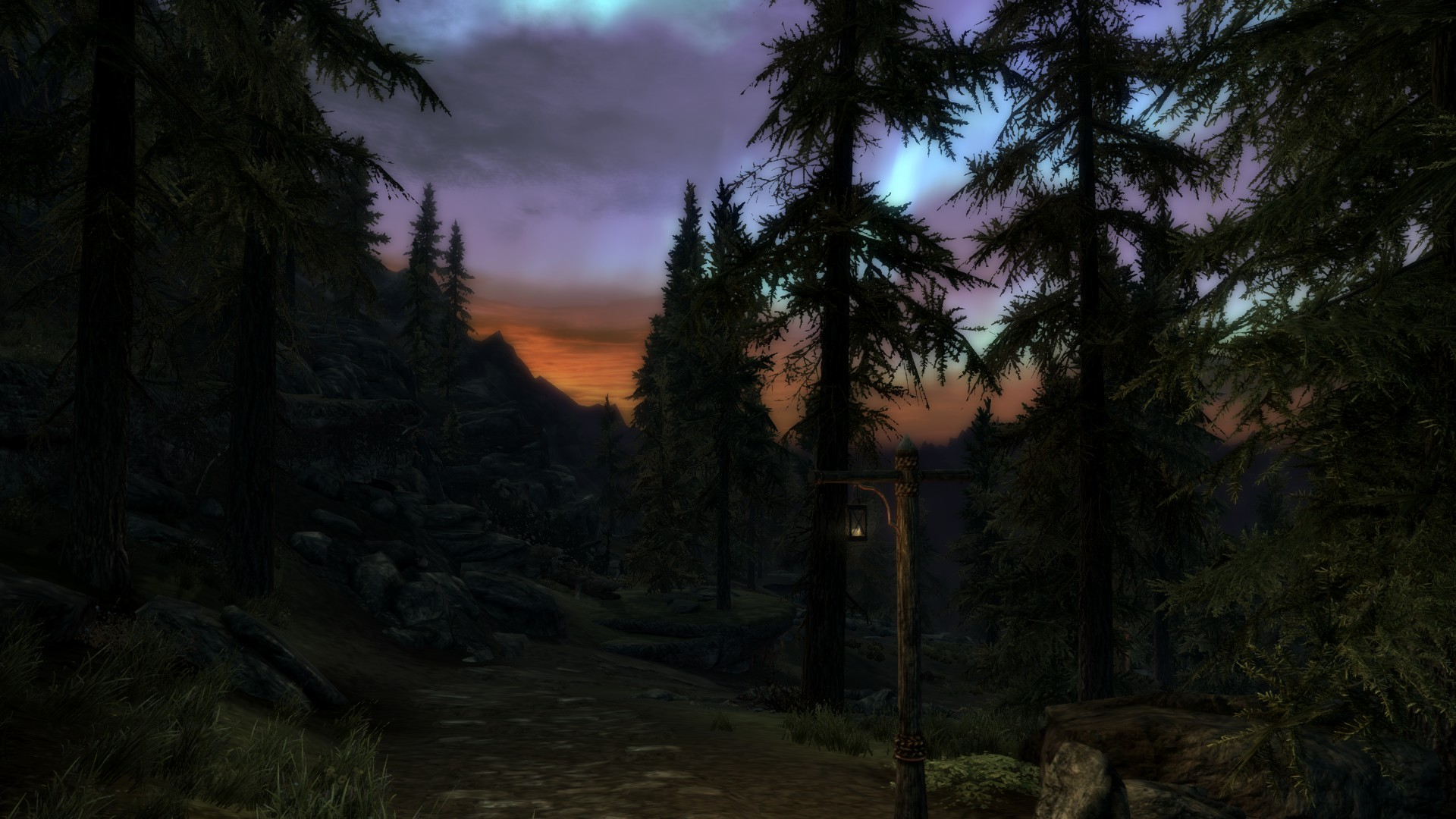 The road to Whiterun