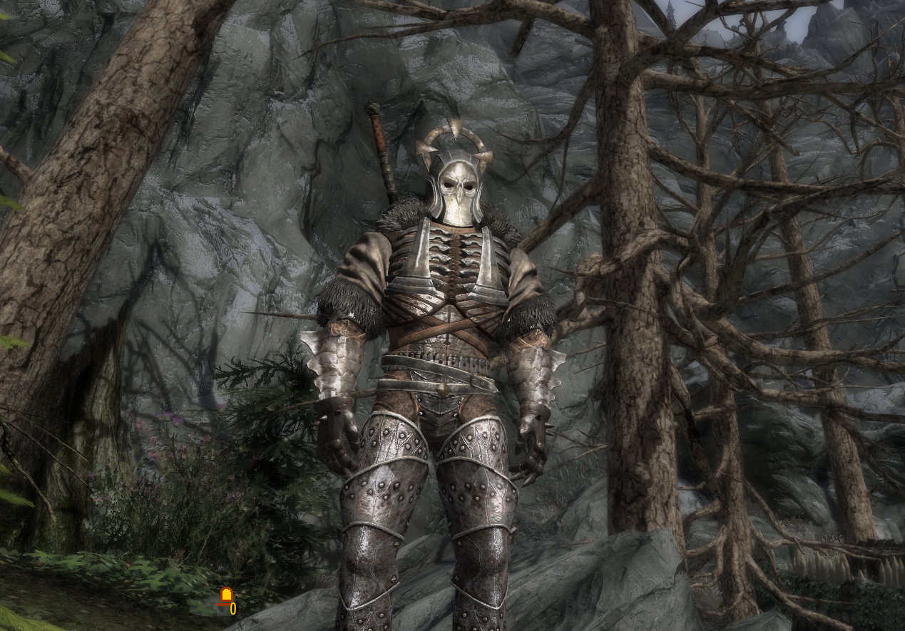 Caranthir from the witcher 3 in skyrim 1 at skyrim nexus mods and community - Caranthir witcher ...