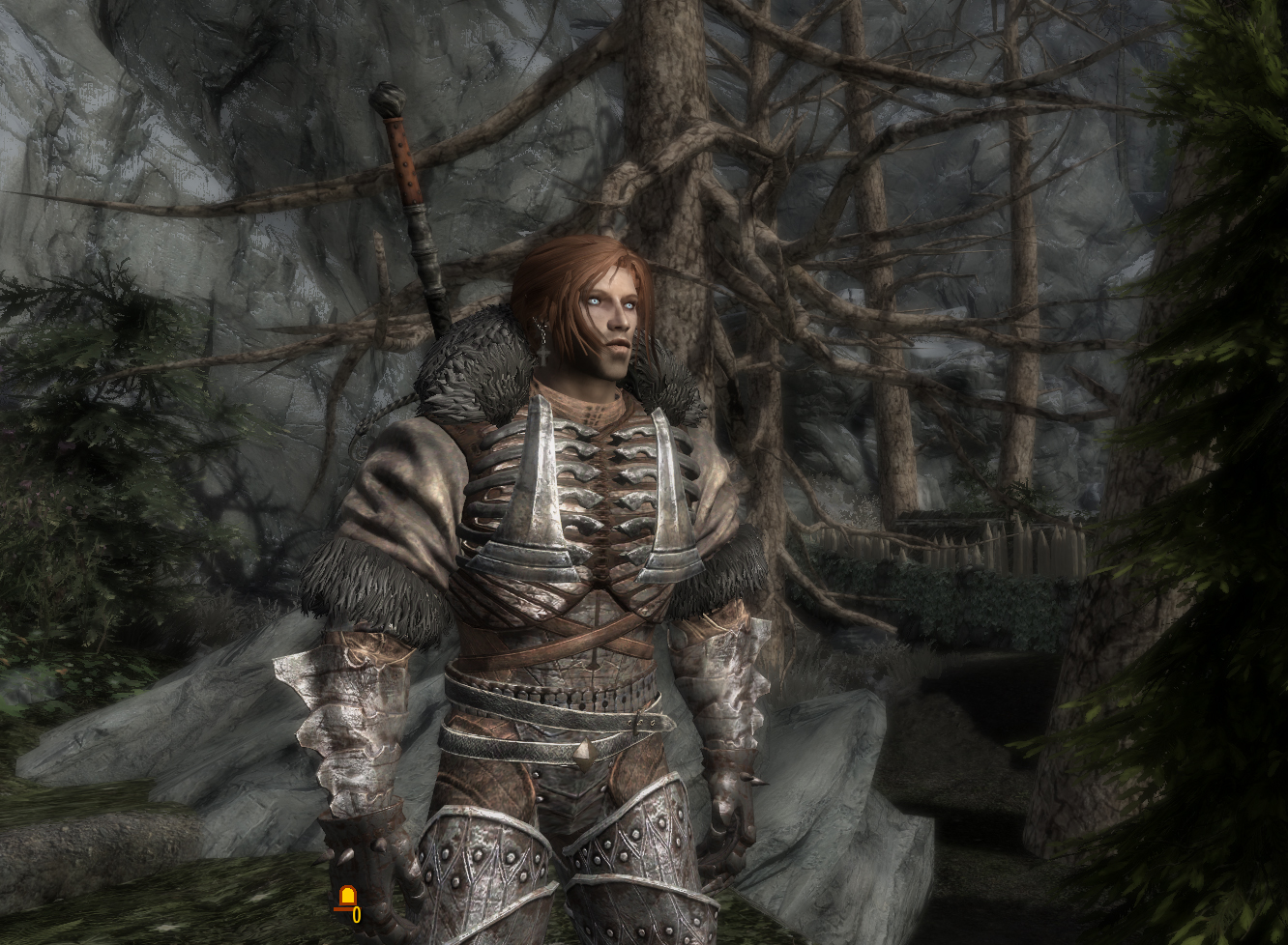 Caranthir from the witcher 3 in skyrim 2 at skyrim nexus mods and community - Caranthir witcher ...