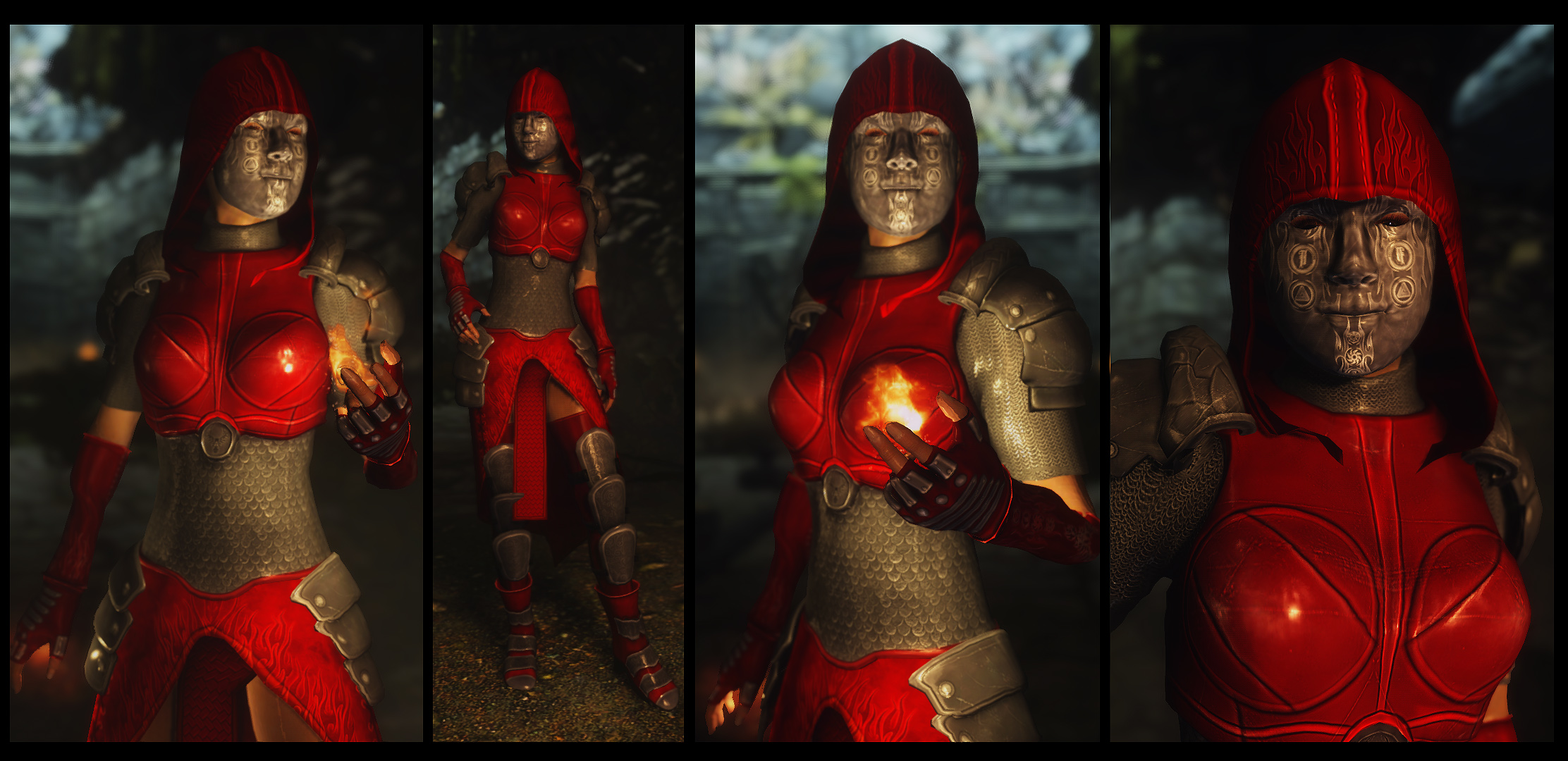 Fire Mage Armor 4 at Skyrim Nexus - mods and community