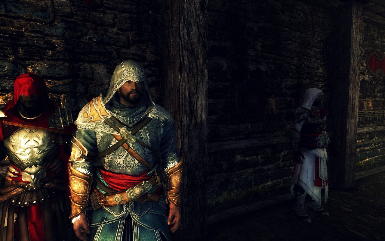Ezio Auditore Armory Assassins Creed At Skyrim Nexus Mods And