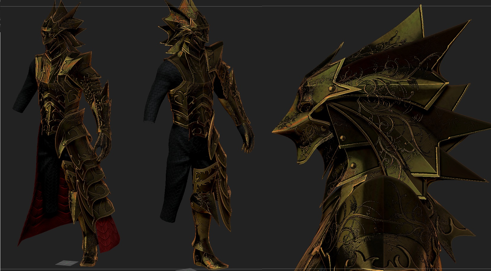 Knight of Thorns Armor 1 at Skyrim Nexus - mods and community