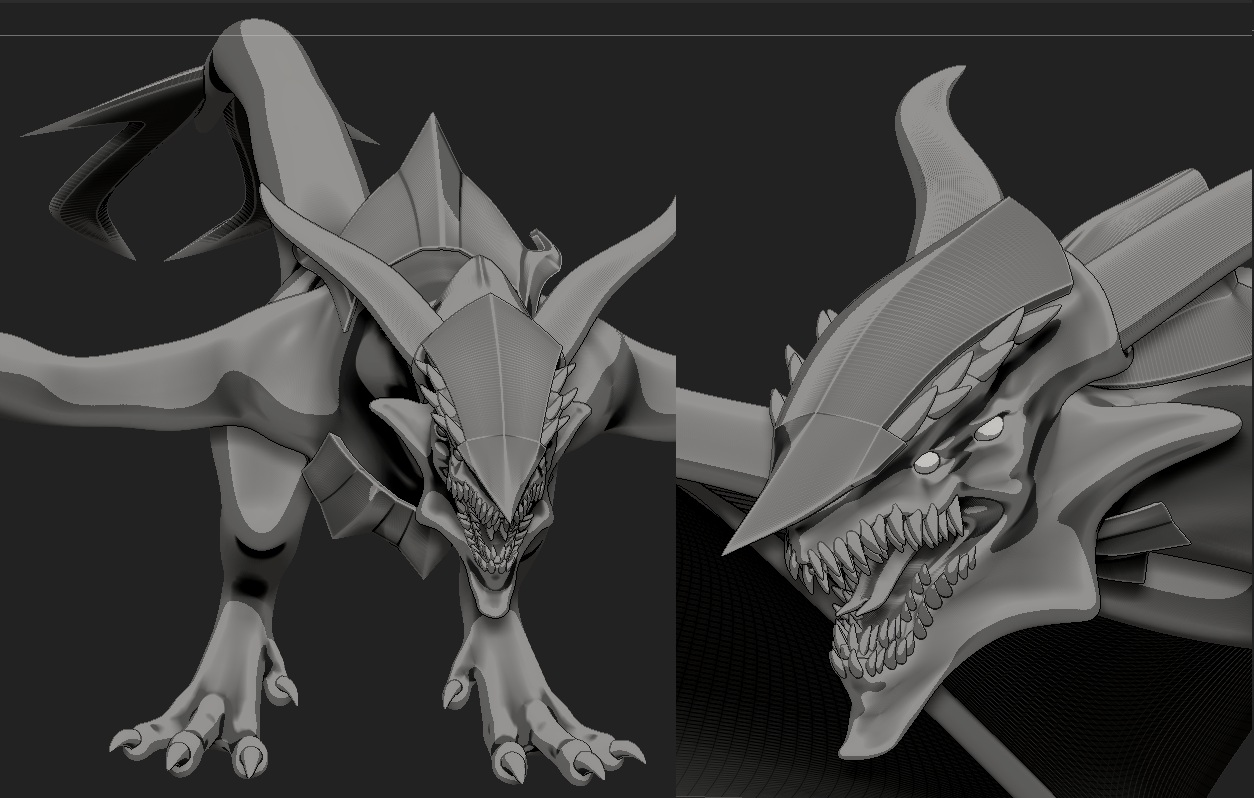 Belial Dragon basic shape 1