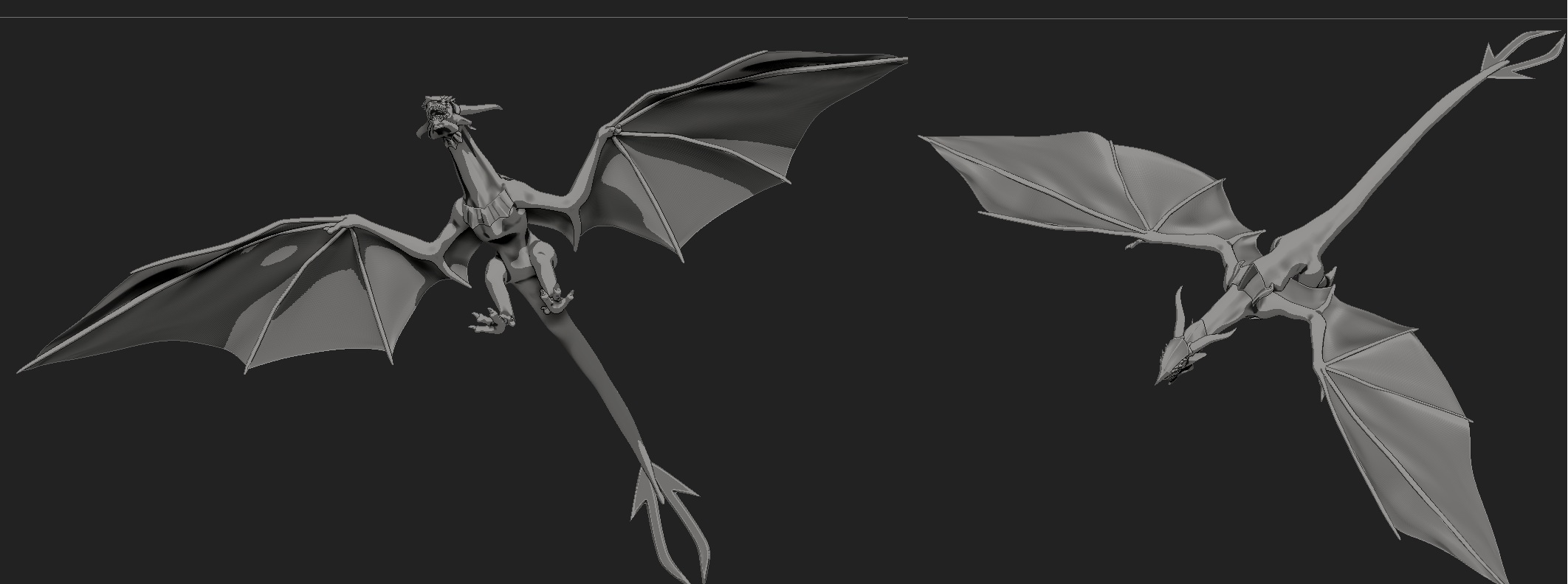 Belial Dragon basic shape 2