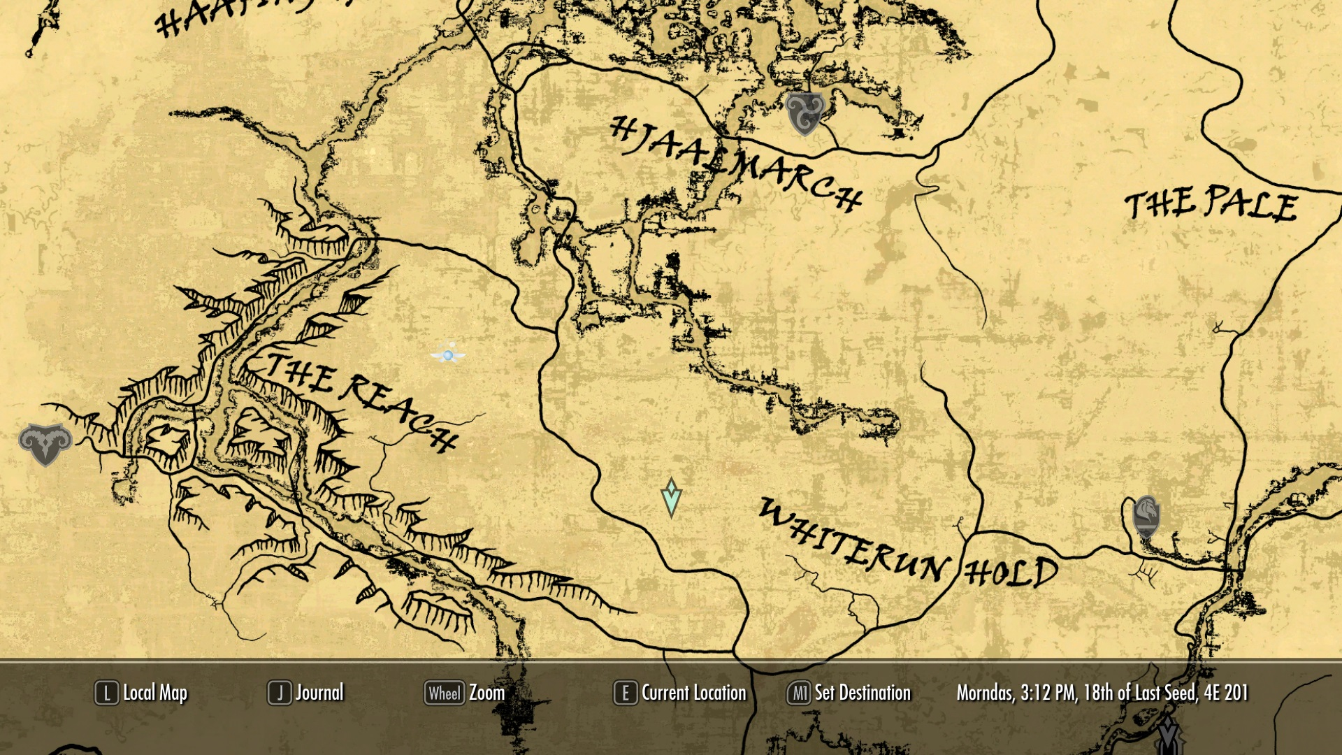 A Quality Paper Map The Reach At Skyrim Nexus Mods And Community