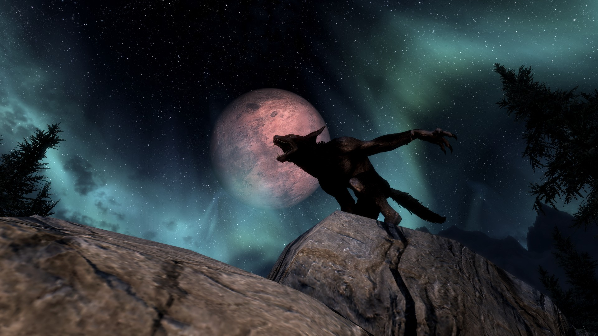 Werewolf Howl At Skyrim Nexus Mods And Community