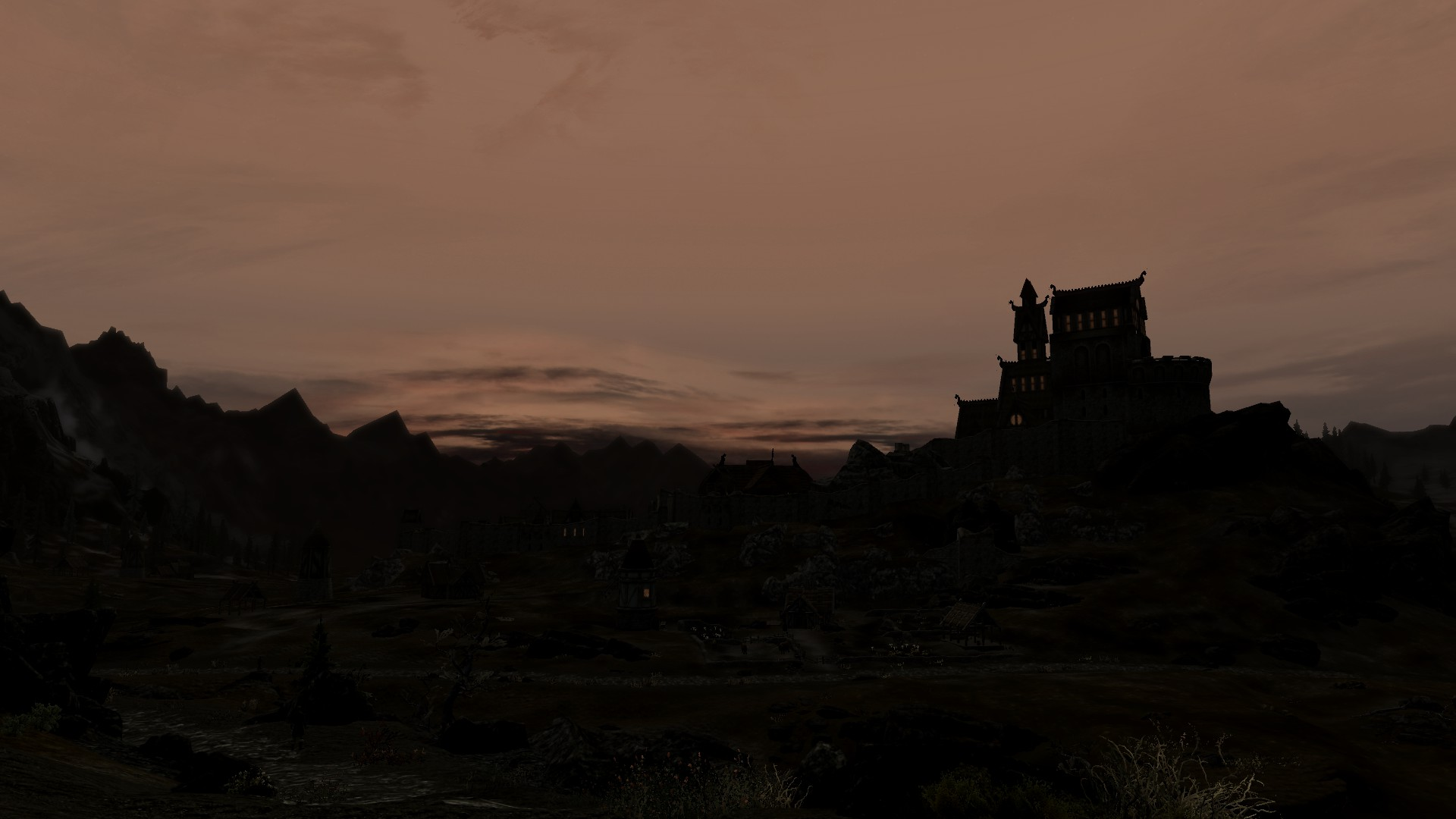 Whiterun in the evening