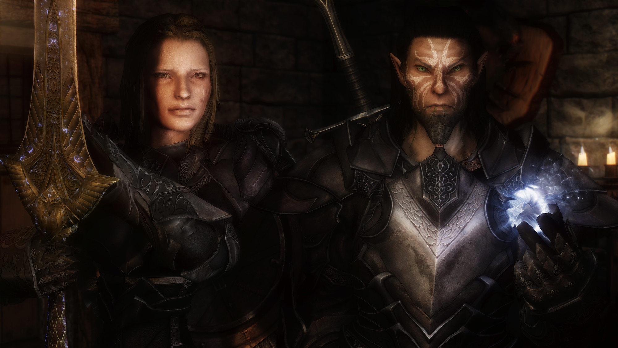 Jordis and Wilvarin