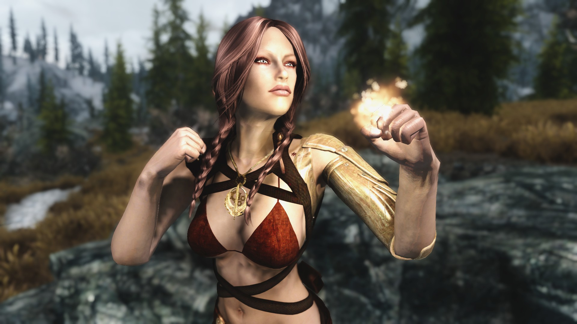Nude skyrim babe pics exploited pic