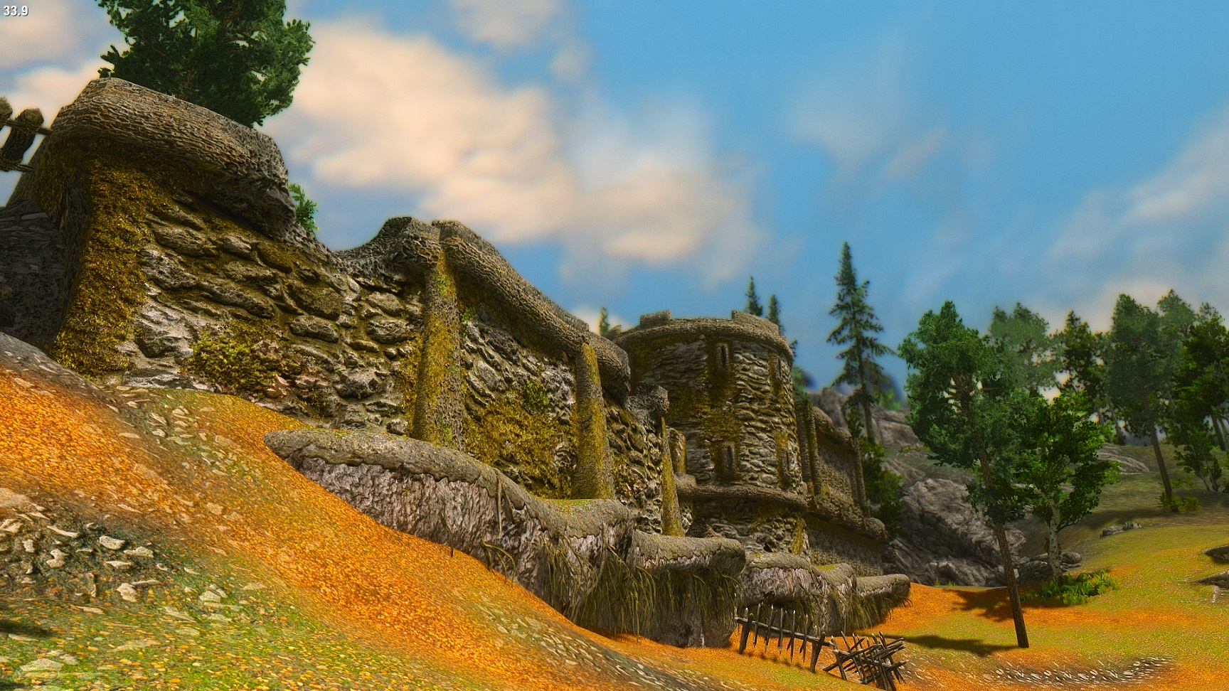E ENB with Vivid Landscapes-Imperial Fort