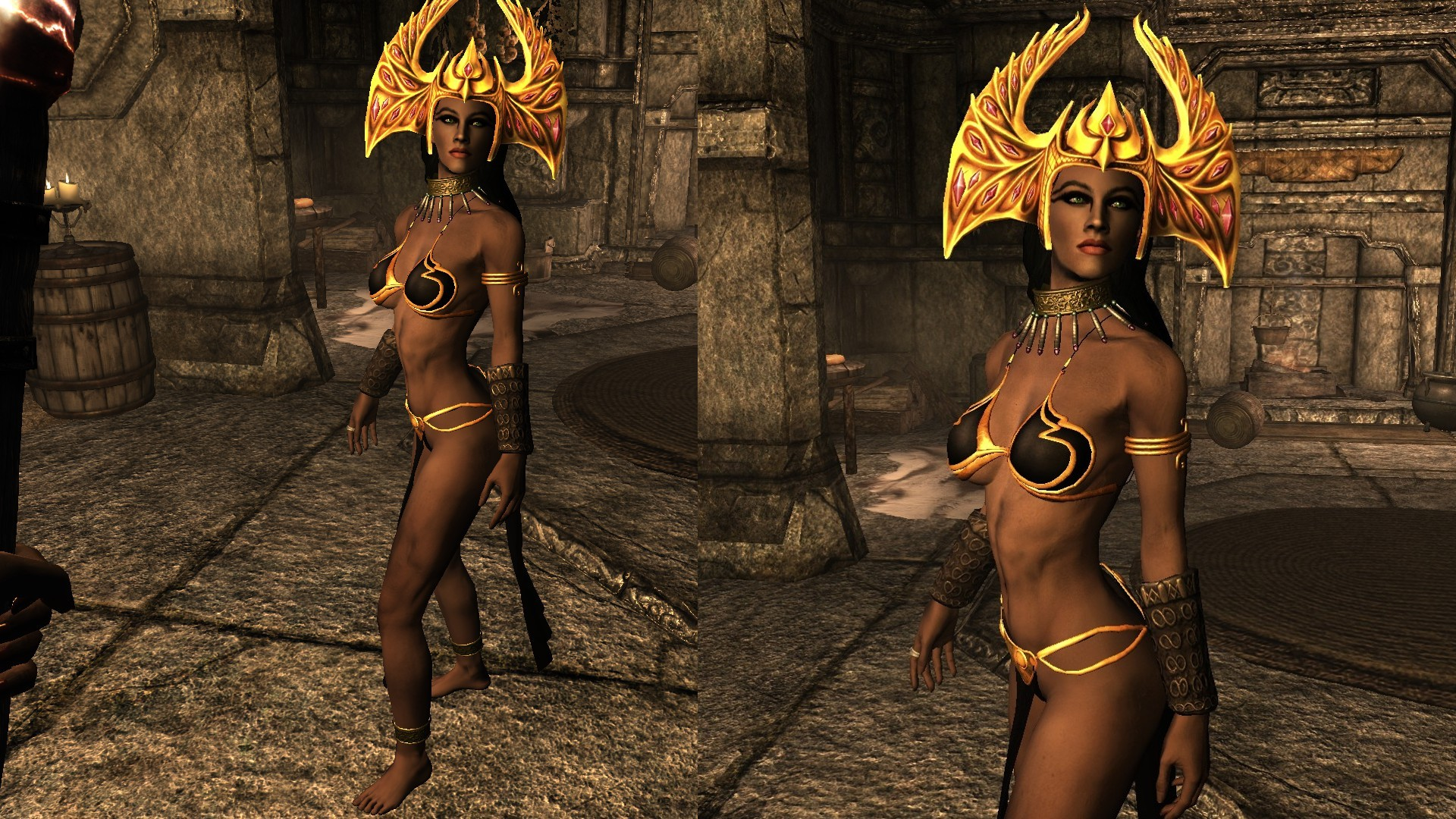 Akasha Queen Of The Damned Wip Revision 2 At Skyrim Nexus Mods