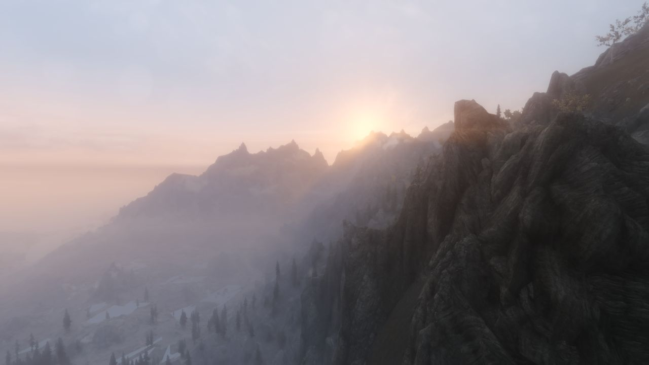 Ruvaak Dahmaan ENB Update 2-2 Dawn Mist with Sun