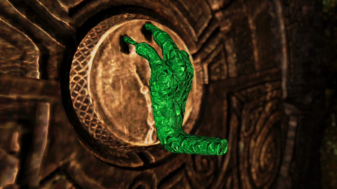 The Emerald Dragon Claw at Skyrim Nexus - mods and community