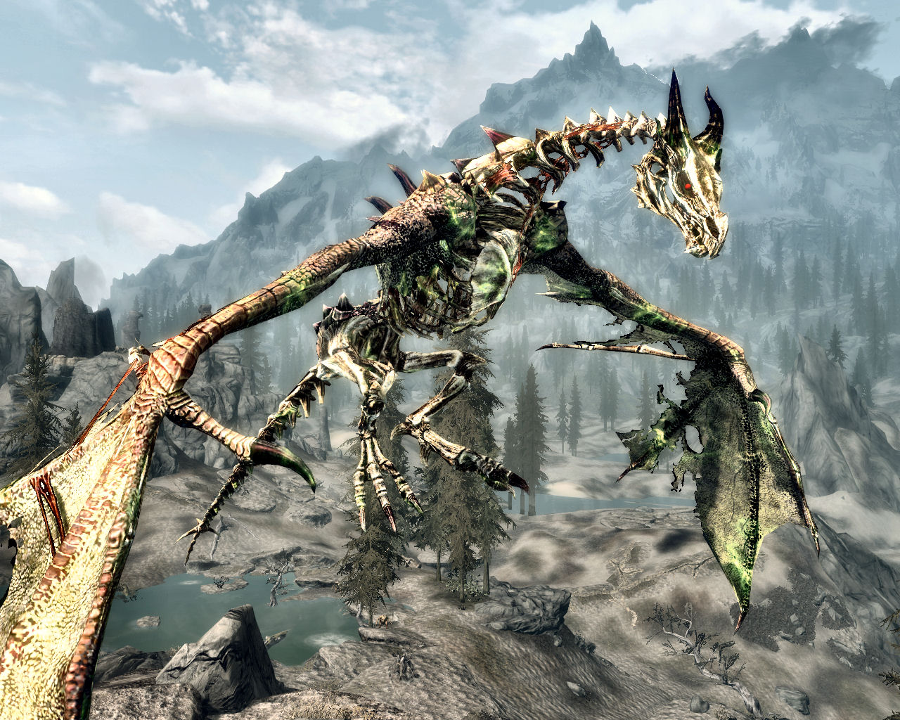Images of New Dragon Skyrim - www industrious info